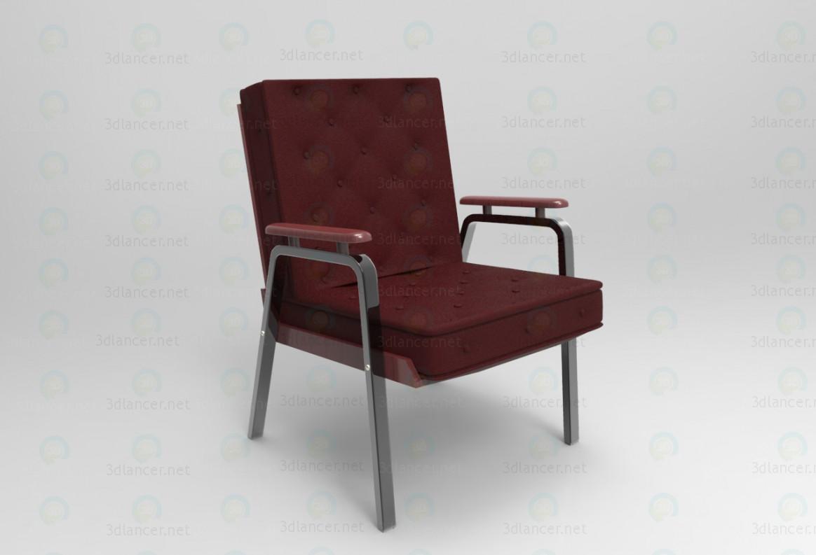3d модель Крісло – превью