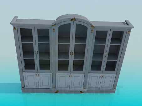 3d modeling Cabinet with doors model free download