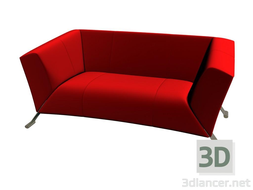 3d model Sofa 322 - preview