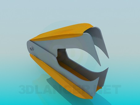 3d model Staple - preview
