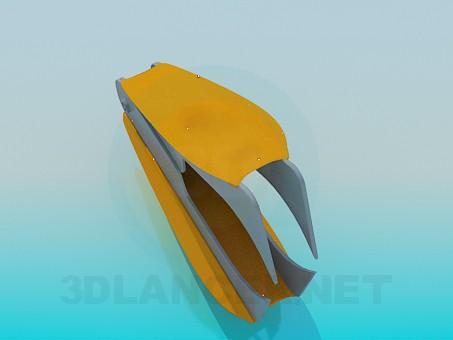 3d модель Антистеплер – превью