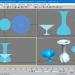3d model Hexagon Vases - preview