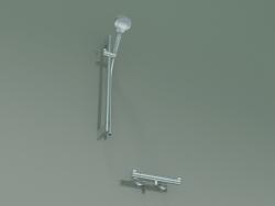 Set doccia L = 650 mm con termostatico (27013400)