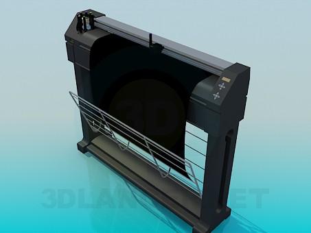 modelo 3D Plotter - escuchar