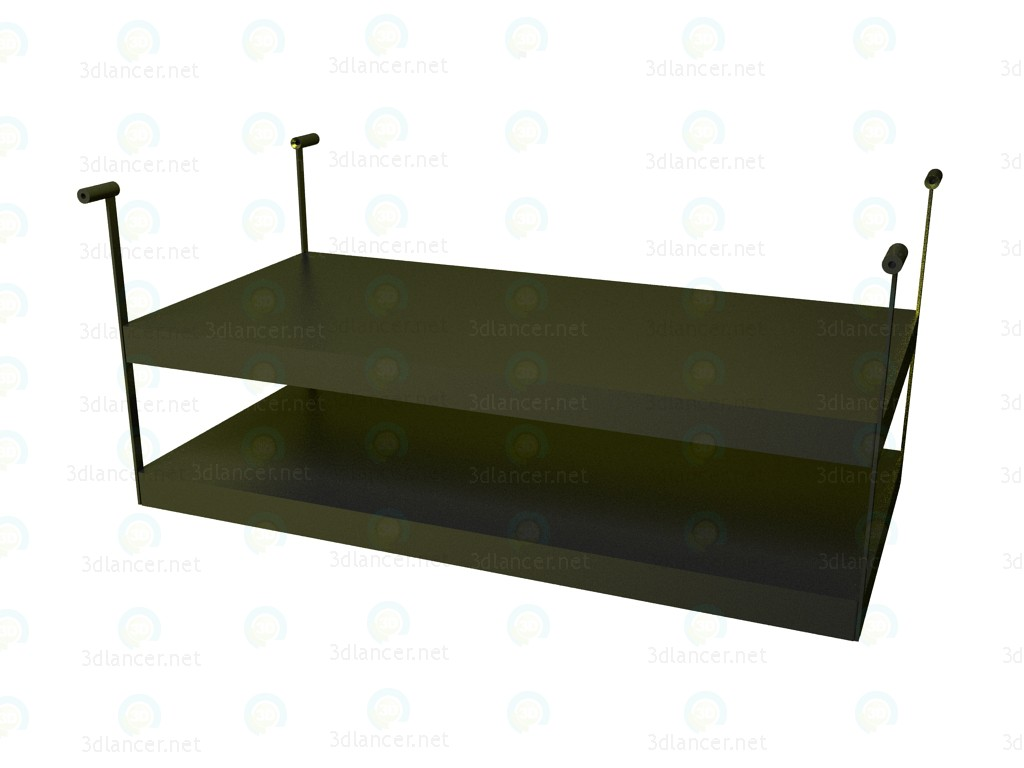 3d model Shelf for table P1S0510AS - preview