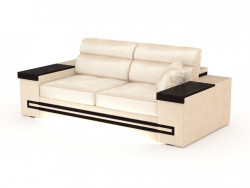 Sofa straight three-seat with backlight Batler (220)