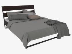 Double bed Trisil with bed linen Gasp (218х165)
