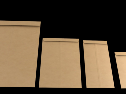 3D Envelopes (Different Sizes)