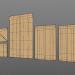3d 3D Envelopes (Different Sizes) model buy - render