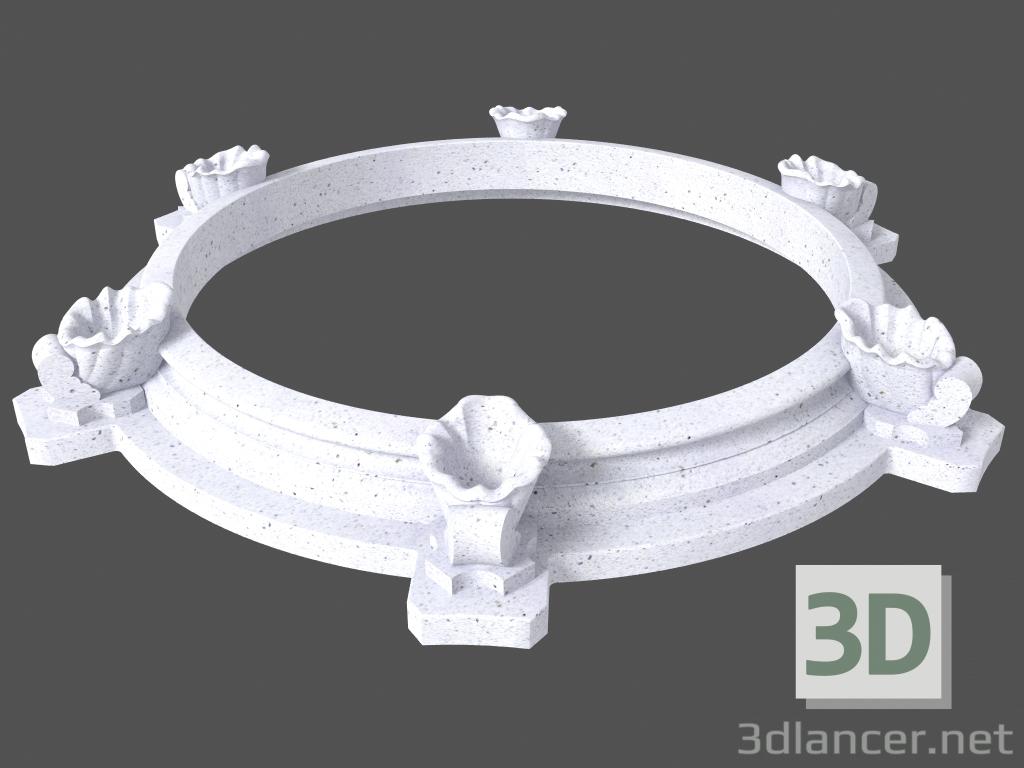 3 डी मॉडल फाउंटेन (LF272N) - पूर्वावलोकन