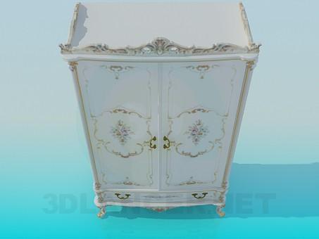 3d модель Шкаф в стиле барокко – превью
