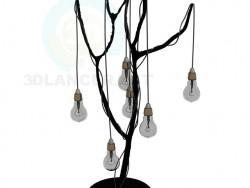 Lampe d'un design spécial