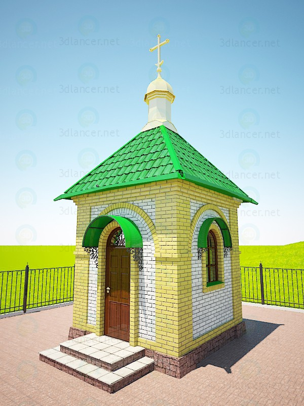 3d model Small Chapel - preview