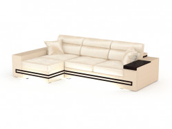 Corner sofa with backlight Batler