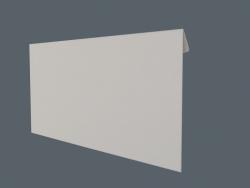 3 डी लिफाफा (आकार डीएल बैंकर)