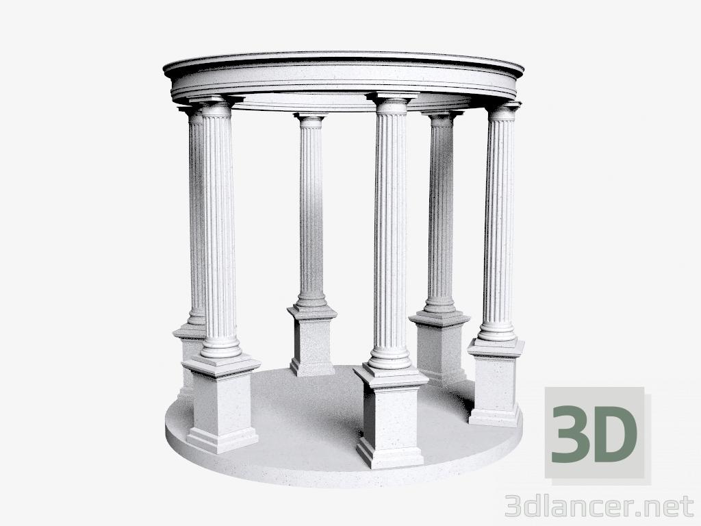 3 डी मॉडल रोटुंडा (LR320B) - पूर्वावलोकन