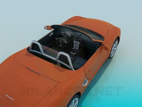 modelo 3D Porche Boxter - escuchar