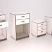 3d model bedside tables - preview
