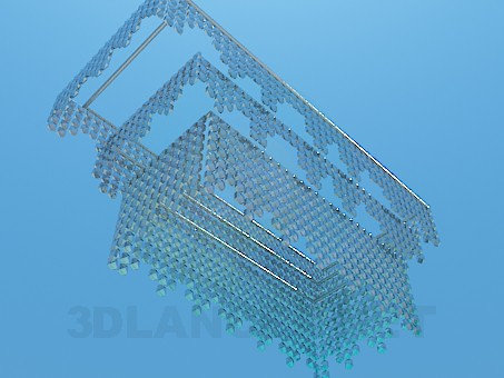 3d model Crystal chandelier - preview