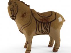 सजावटी मूर्ति घोड़े