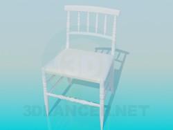 लकड़ी की कुर्सी