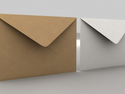 3 डी लिफाफा (आकार-सी 5 बैंकर)