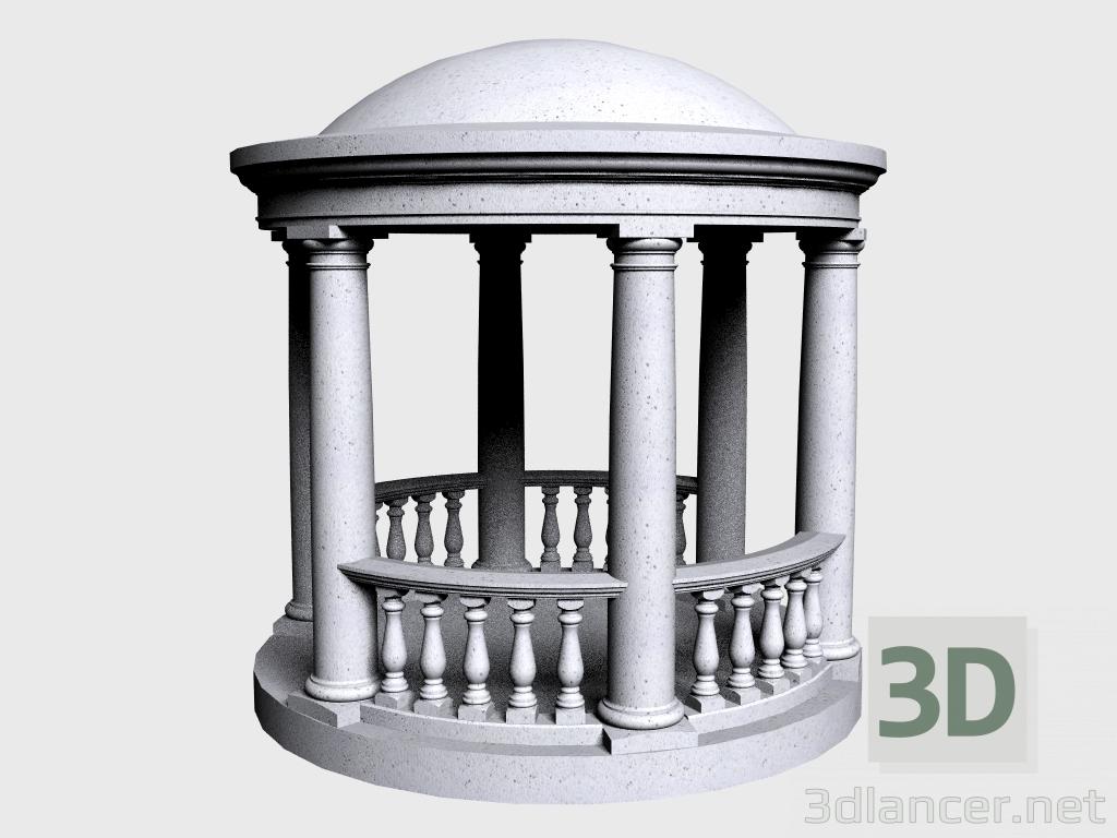 3 डी मॉडल रोटुंडा (LR330N) - पूर्वावलोकन