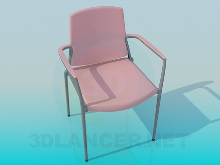 3d modeling Padded chair model free download