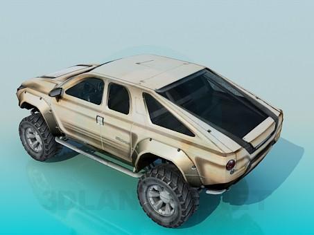 3d model Maximus - preview