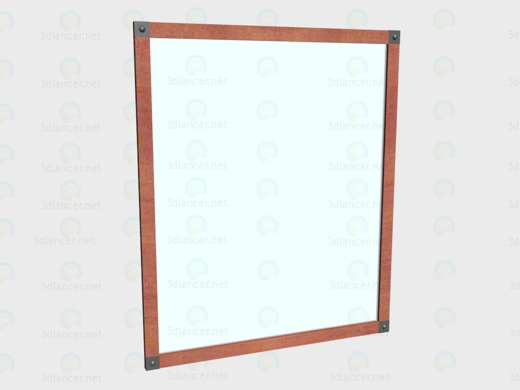3d модель Зеркало настенное VOX – превью