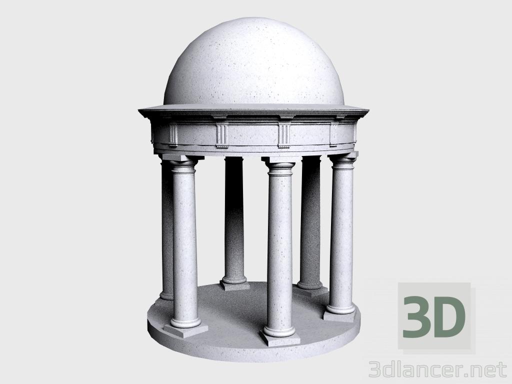 3 डी मॉडल रोटुंडा (LR360G) - पूर्वावलोकन