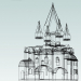 3d model Suzdal. Church of the Nativity - preview