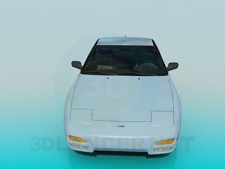 modelo 3D Nissan 240sx - escuchar