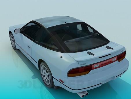 3d model Nissan 240sx - preview