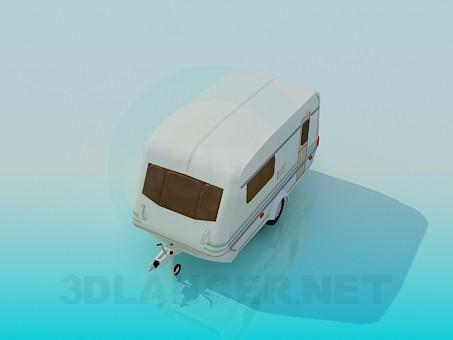 3d модель Фургончик – превью