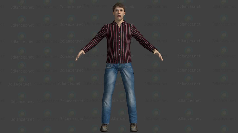 3d Character model buy - render