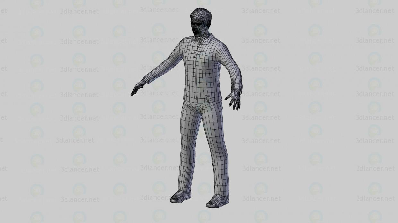 Carácter 3D modelo Compro - render