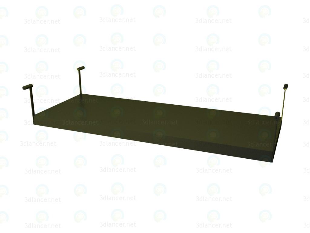 3d model Estante para mesa P1S0513B - vista previa