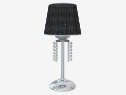 Lampada da tavolo Meleza (2565 1T Nero)
