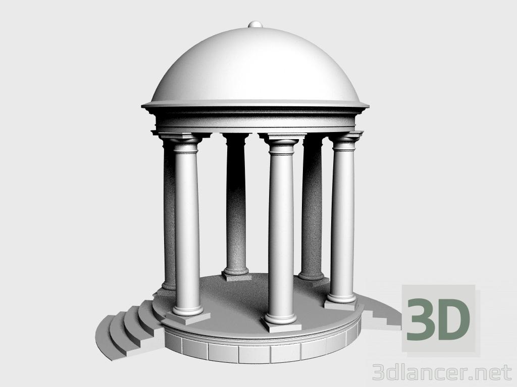 3 डी मॉडल रोटुंडा (LR380B) - पूर्वावलोकन