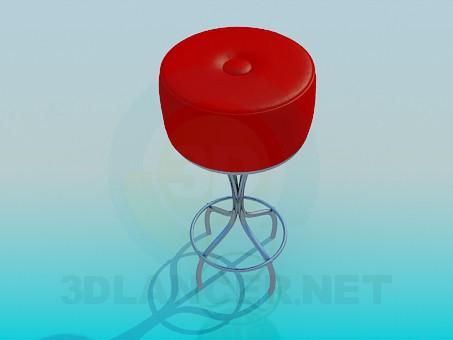 3d модель Стілець – превью