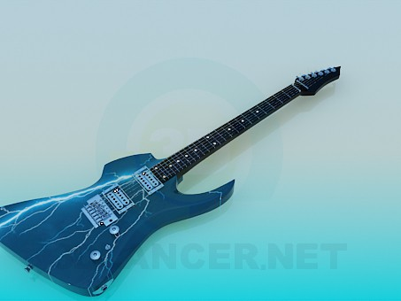 3d model Electric guitar - preview