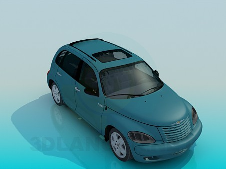 3d model Chrysler PT Cruiser - preview