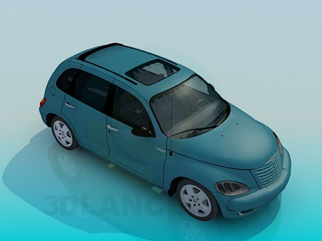 3d модель Chrysler PT Cruiser – превью