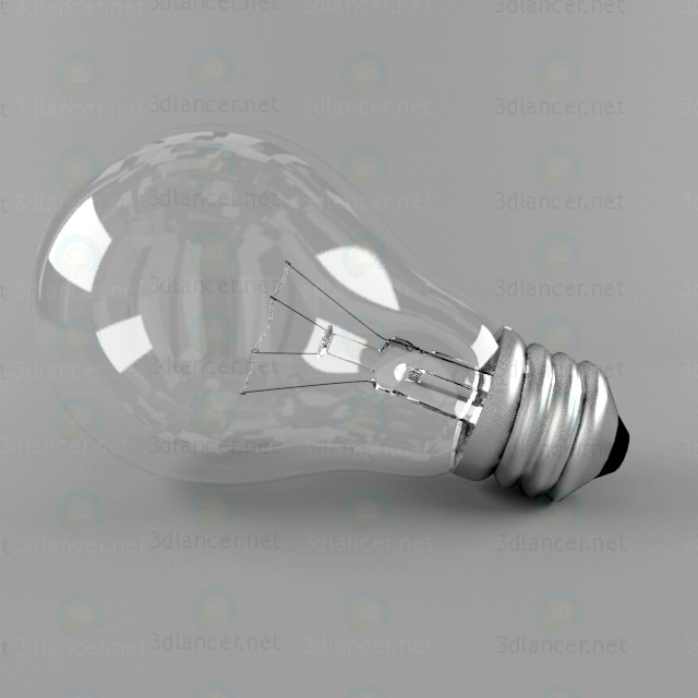 3d modeling Light Bulb model free download