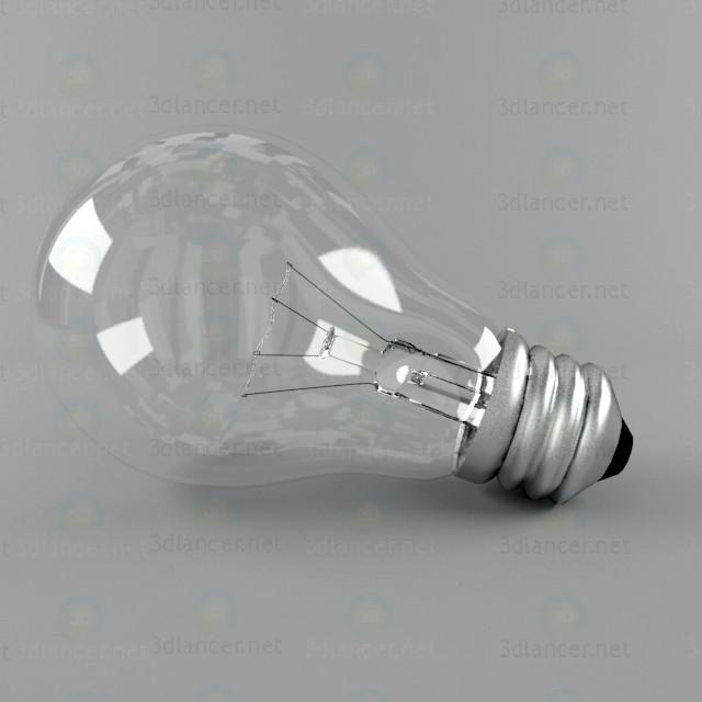 3d модель Лампочка – превью