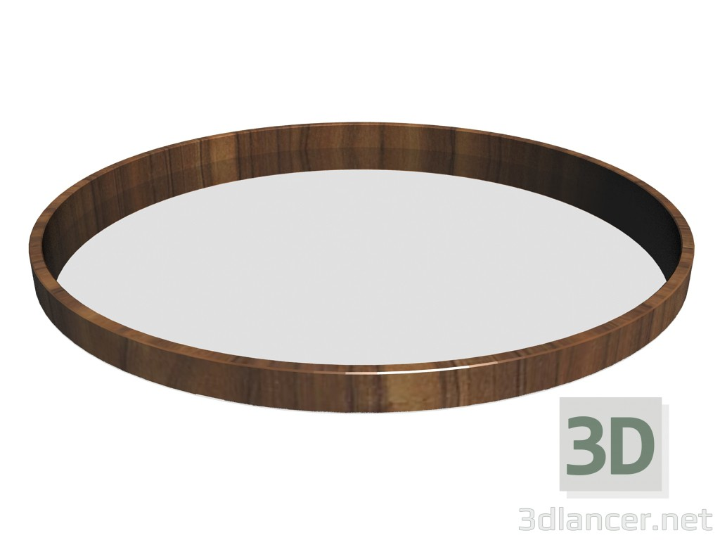 3d model 951 tray (round) - preview