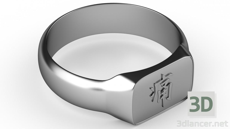 3d Ring model buy - render