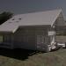 3d Nice wooden house model buy - render