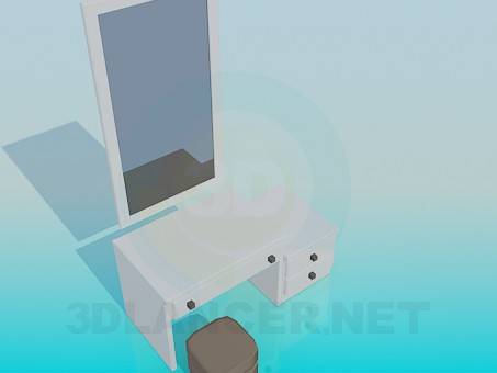 3d modeling Pier-glass model free download